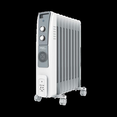 Маслонаполненный радиатор с  тепловентилятором SCARLETT SC-51-2409-S5
